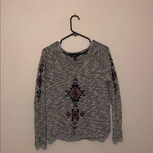 Gray Sweater